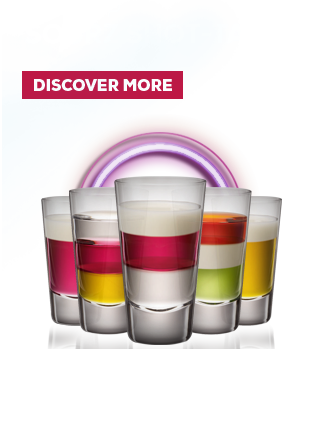 Mix it up - Sourz shot-tails